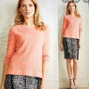 Field of Flower Anthropologie Textured Sweater